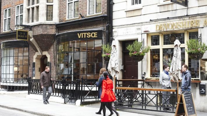 Vitsœ's London planning team