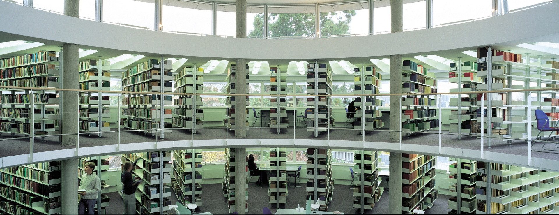 A far-sighted university and a prescient architect achieved a fine storage solution for the works of divinity