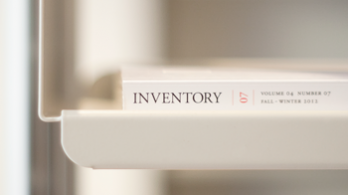 Inventory magazine at Vitsœ New York