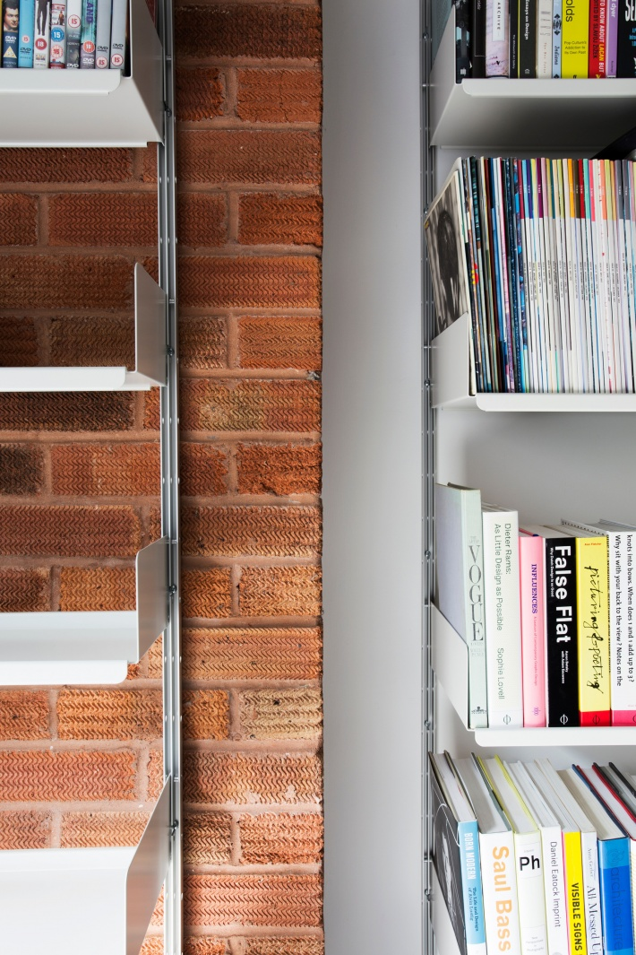 Fair-faced brick or finished plaster, the wall-mounted system is attached with appropriate fixings – supplied with your order