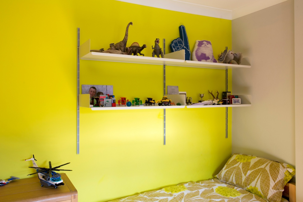 Room to expand – even above the bedSee bedroom & wardrobe systems
