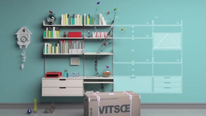 used vitsoe shelving 1