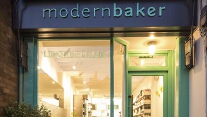 Modern Baker shop front