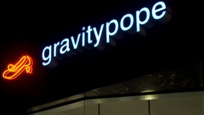 Gravity Pope shop front