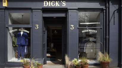 Dick's Edinburgh shop front