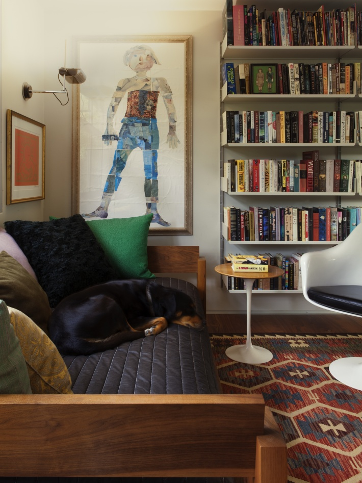 The Archers Los Angeles interior with Vitsoe's 606 Universal Shelving System by Dieter Rams
