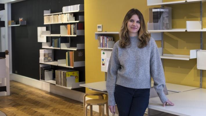Vitsœ planner, Lauren, at 3–5 Duke Street, London