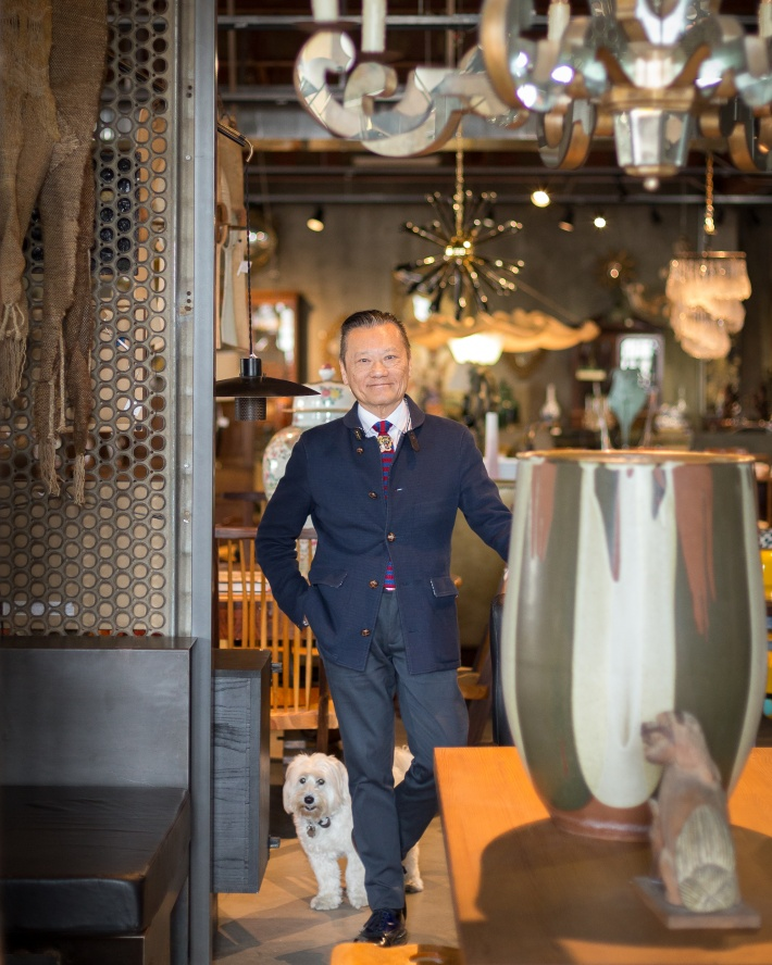 JF Chen at his Los Angeles shop © Vitsoe