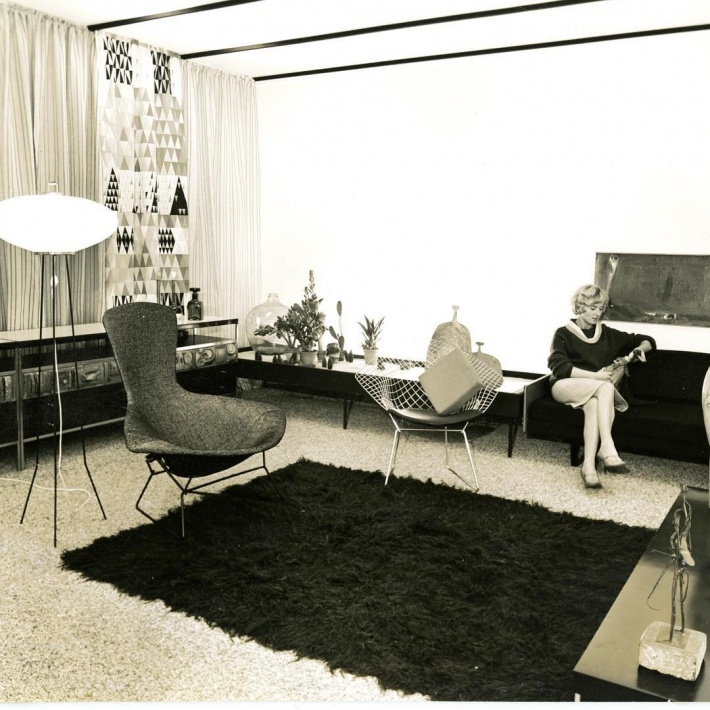 Giles Round's 1959 reference, 'Living Today: An Exhibition of Modern Interiors'