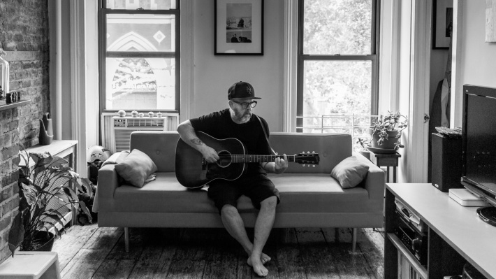 Gary Hustwit at home in New York
