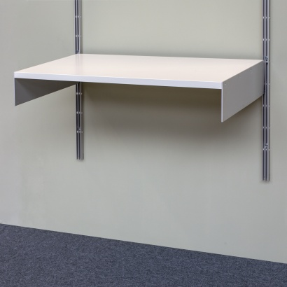 Vitsœ 606 single shelf, Modular shelving. Designer Dieter Rams