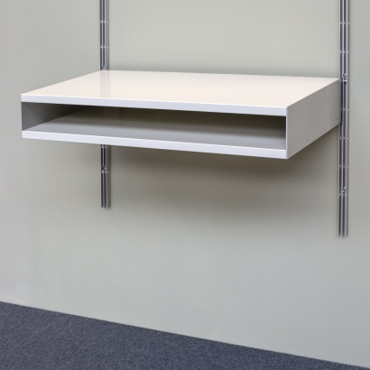 606 double shelf, designed by Dieter Rams.