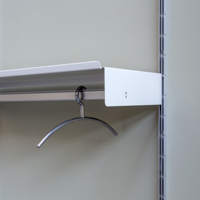 Hanging rail shelf designed by Dieter Rams