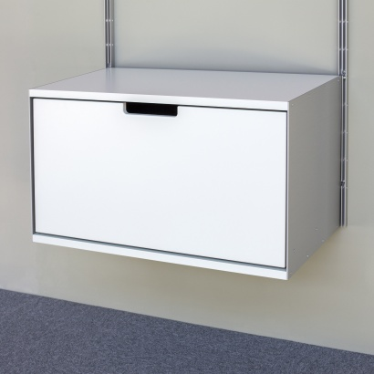 One drawer, 1d, 606 Cabinet, designed by Dieter Rams