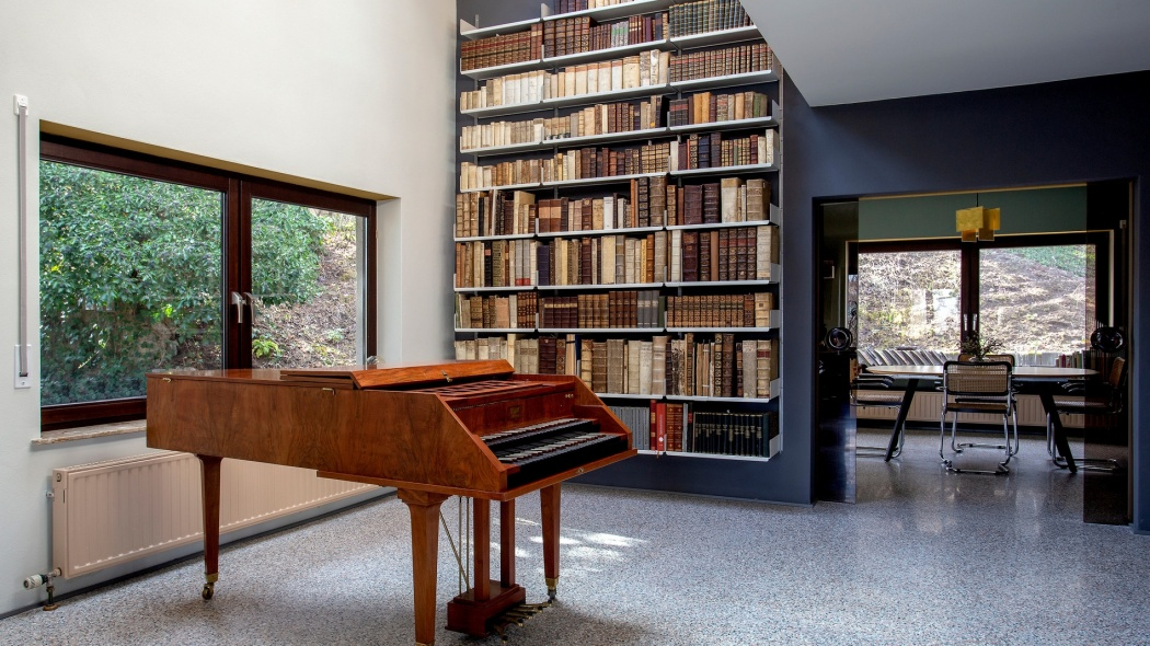 Dieter's harpsichord