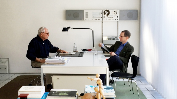 Mark Adams and Dieter Rams