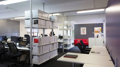 Office with 606 Universal Shelving System