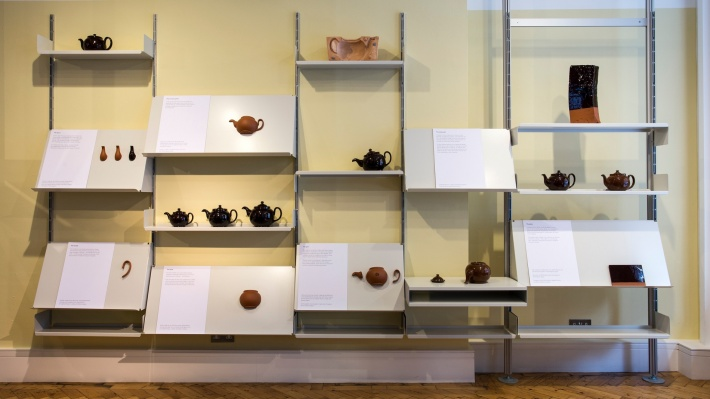 Ian McIntyre's Brown Betty exhibition at Vitsœ, London 2016