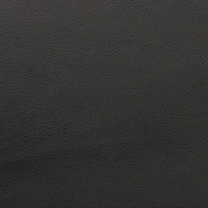 Leather sample for the 620 Chair Programme, colour black