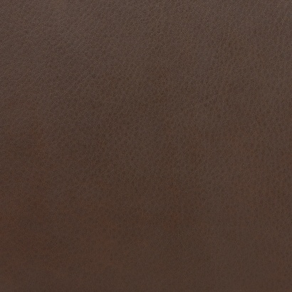 Leather sample for the 620 Chair Programme, colour chocolate, brown