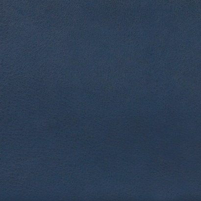 Leather sample for the 620 Chair Programme, colour midnight, blue
