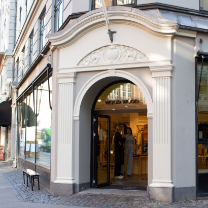 Wood Wood store in Copenhagen main entrance