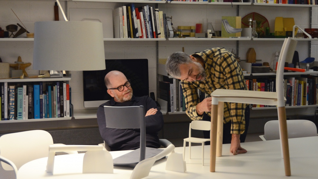 Tom Lloyd and Luke Pearson have been designing together for 24 years.